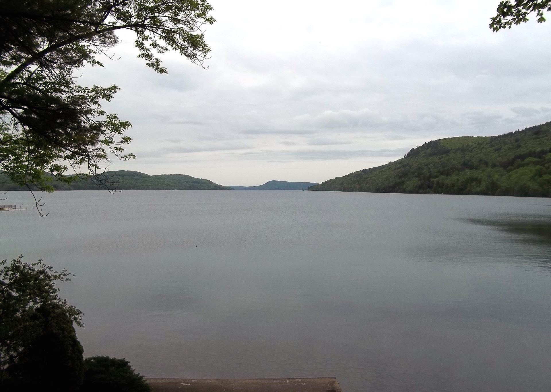 south view over lake otsego