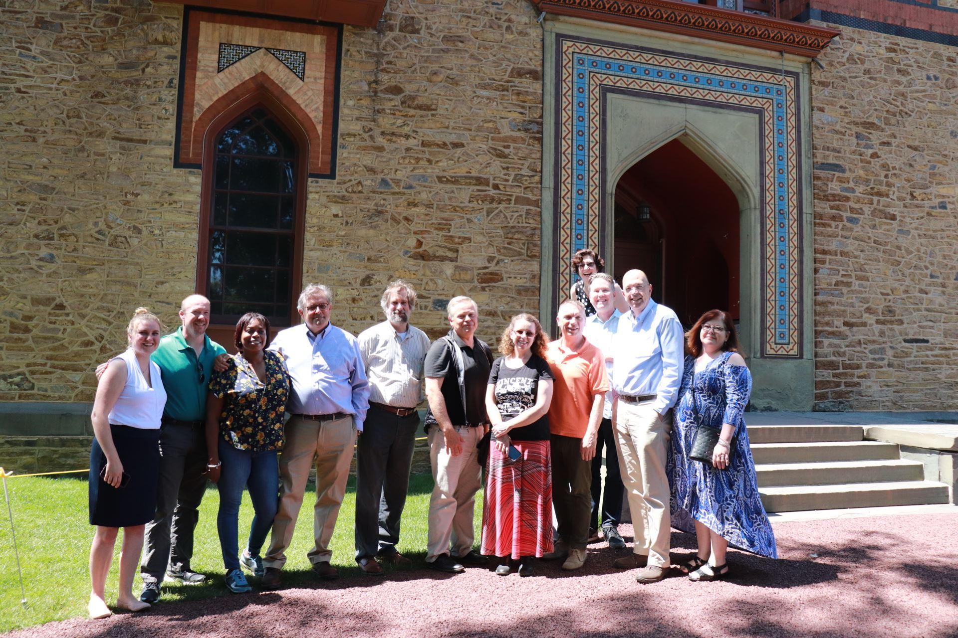 Today MANY board and staff traveled to Olana State Historic Site for our June meeting. What an incredible place to meet as we work to better serve #nysmuseums and strengthen our organization.