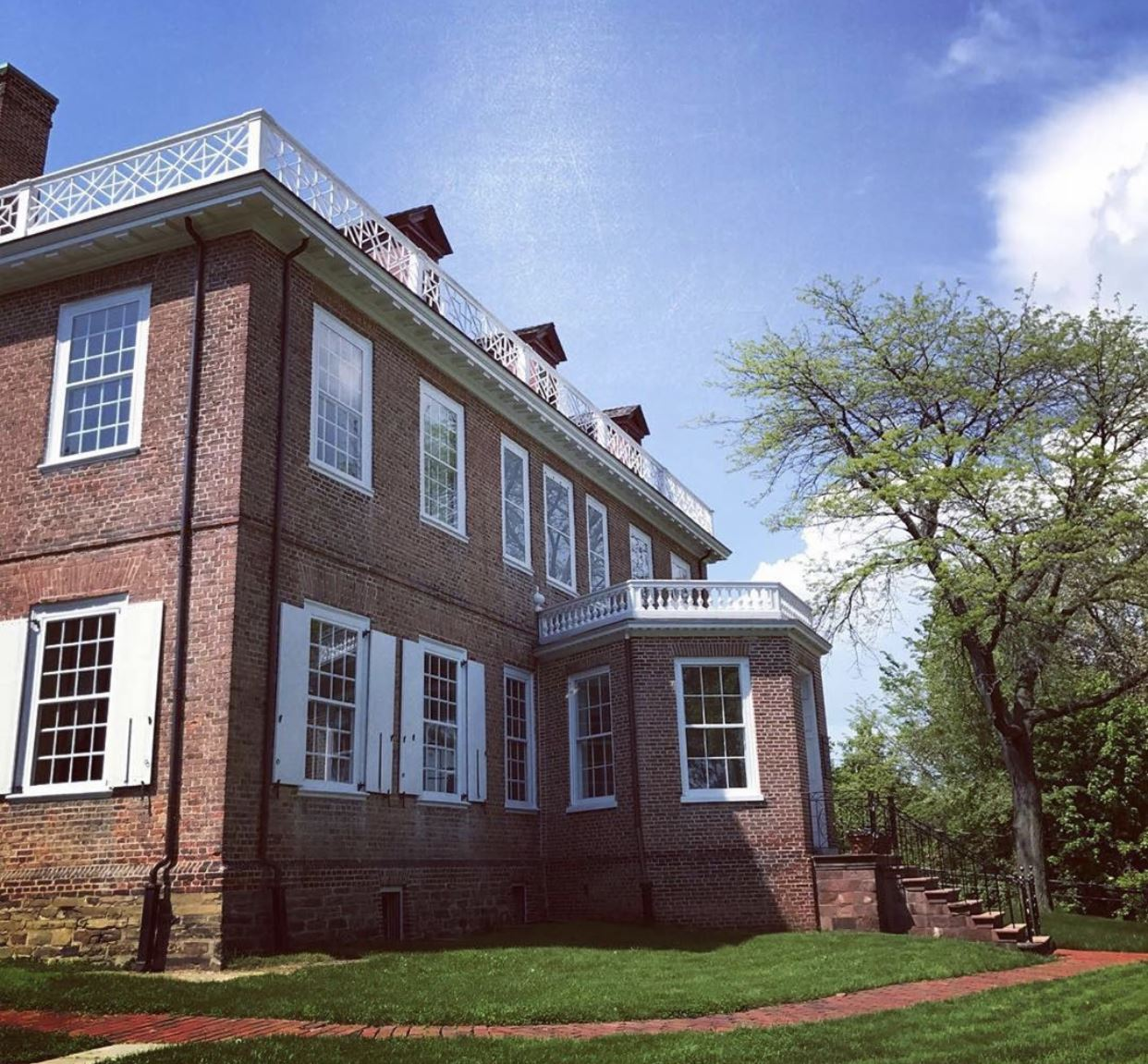 the Schuyler Mansion State Historic Site! Home to Philip J. Schuyler, a Revolutionary War general, and his wife Catharine Van Rensselaer where they raised their eight children, this site is a must-see for Hamilton fans. Alexander Hamilton proposed to and married Elizabeth Schuyler here in 1870.