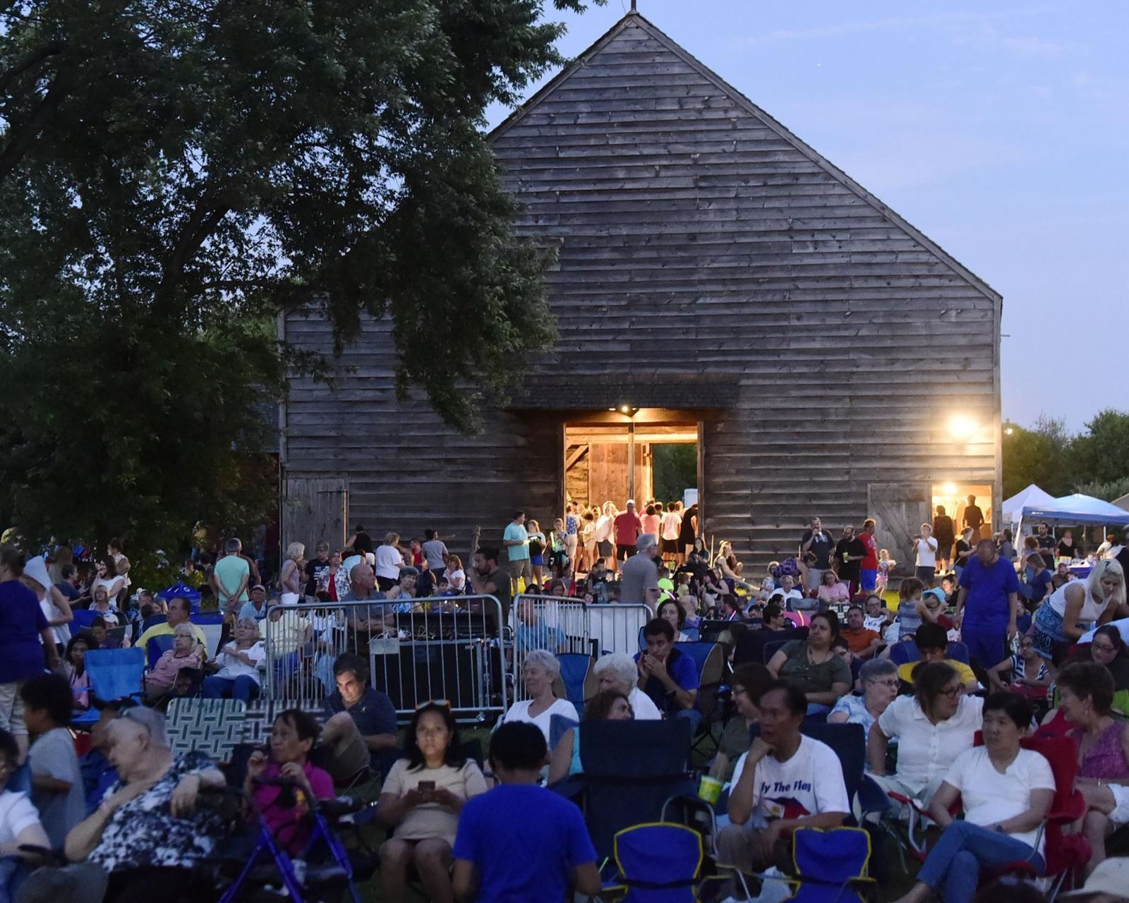 New programming has brought in new audiences at the Schenectady County Historical Society like their Independence Day Celebration with the Schenectady Symphony (pictured above). Image courtesy Schenectady County Historical Society.