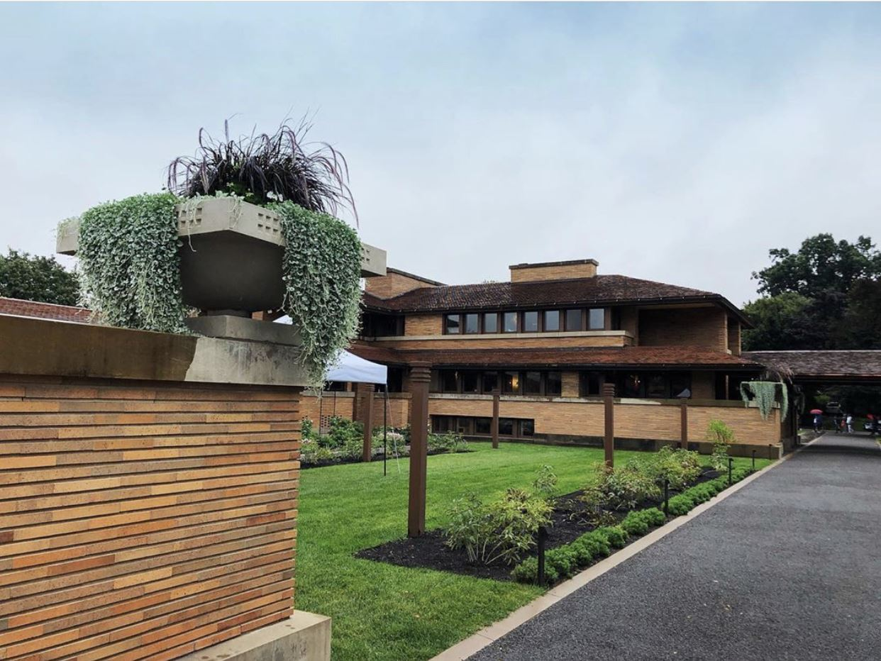 MANY staff took a field trip to Frank Lloyd Wright's Darwin Martin House in Buffalo, NY. The buildings at The Martin House complex began a $52 million restoration journey back in the early 1990s and was finished earlier this year.