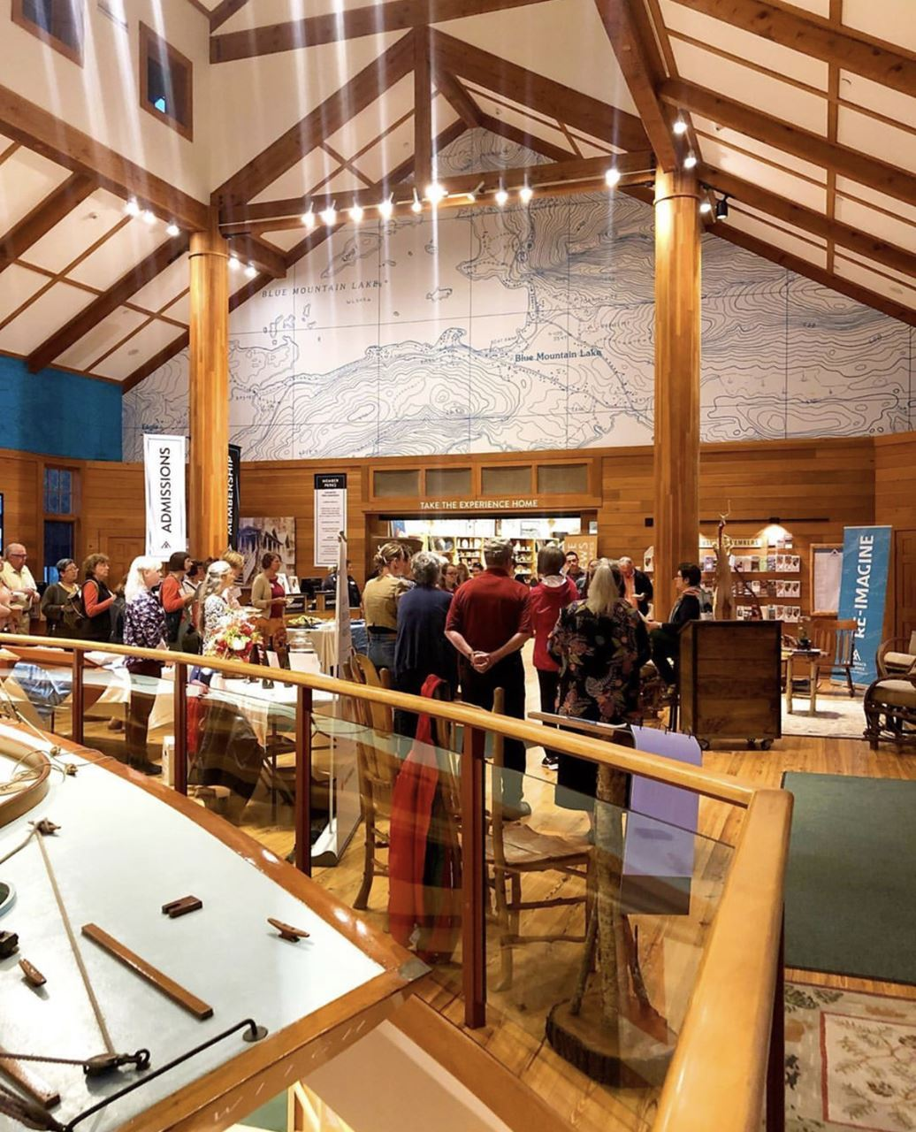A little taxidermy, behind the scenes collections storage, and more! Thank you for a great North Country Meet-Up at the Adirondack Experience.